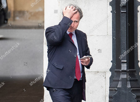 Conservative MP Sir Oliver Letwin is seen in Parliament. High level cross party talks have re-started today in an attempt to reach a compromise over Brexit.