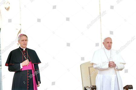Georg Ganswein, Pope Francis