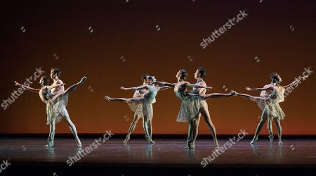 Stock Photo of Dancers perform a Ballet written by Christopher Wheeldon