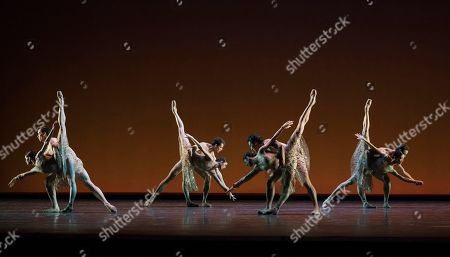 Stock Picture of Dancers perform a Ballet written by Christopher Wheeldon