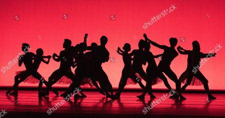 Dancers perform a Ballet written by Christopher Wheeldon