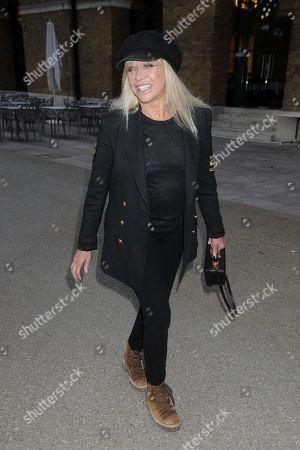 Jo Wood at 'Riviera' TV Show premiere