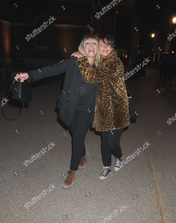 Editorial photo of Jo and Leah Wood out and about, London, UK - 07 May 2019