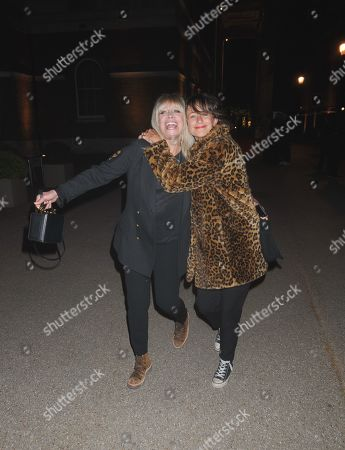 Editorial image of Jo and Leah Wood out and about, London, UK - 07 May 2019