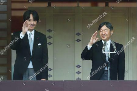 Editorial photo of Emperor Naruhito greets the public, Imperial Palace, Tokyo, Japan - 04 May 2019
