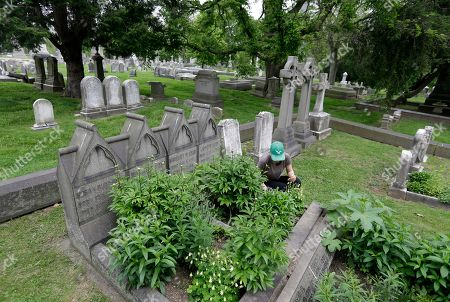 Editorial picture of Grave Gardeners, Philadelphia, USA - 04 May 2019