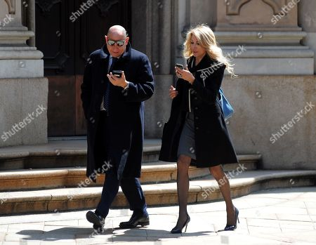 Editorial image of Gabriella Carlucci out and about, Milan, Italy - 07 May 2019