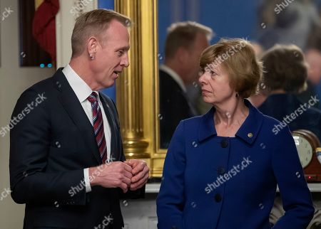 Editorial picture of Acting US Defense Secretary Patrick Shanahan and Joint Chiefs of Staff Chairman General Joseph Dunford Jr  testify before the US Senate Appropriations Defense Subcommittee, Washington, USA - 08 May 2019