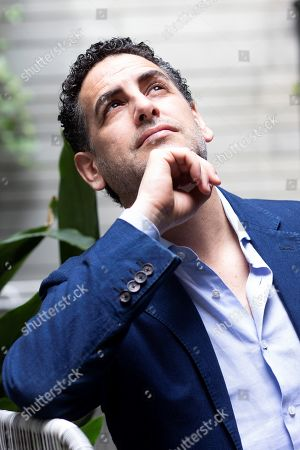 Peruvian tenor Juan Diego Florez poses for the photographers during an interview for the Spanish News Agency EFE in Barcelona, Spain, 08 May 2019.