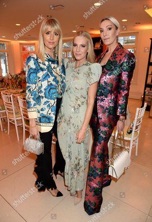 Lady Emily Compton, Alice Naylor-Leyland and Olivia Buckland