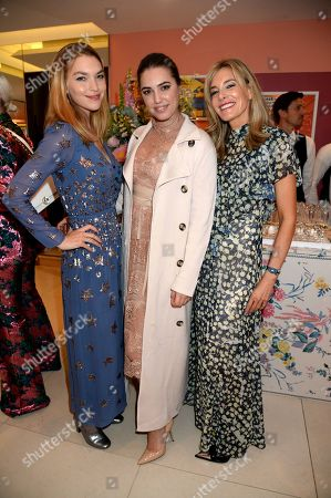Arizona Muse, Amber Le Bon and Kim Hersov