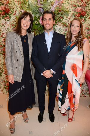 Editorial photo of Alice Naylor-Leyland hosts dinner at Fenwick Bond Street, London, UK - 08 May 2019