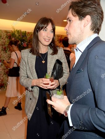 Samantha Cameron and Adam Kelly