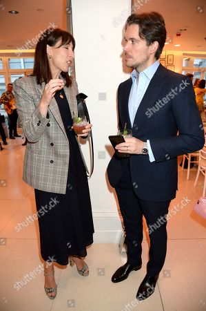 Editorial image of Alice Naylor-Leyland hosts dinner at Fenwick Bond Street, London, UK - 08 May 2019