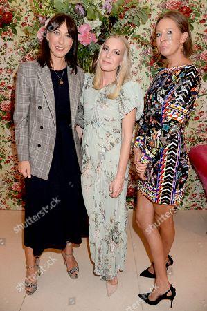 Samantha Cameron, Alice Naylor-Leyland and Sophia Hesketh