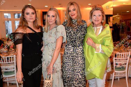 Bea Fresson, Alice Naylor-Leyland, Kim Hersov and Serena Fresson