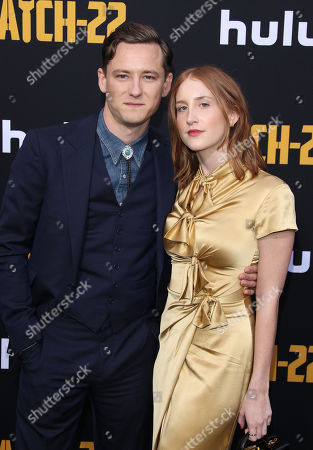 Lewis Pullman and guest