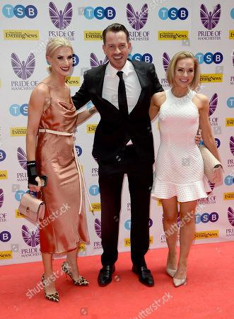 Sarah Jayne Dunn, Ashley Taylor Dawson and Stephanie Waring
