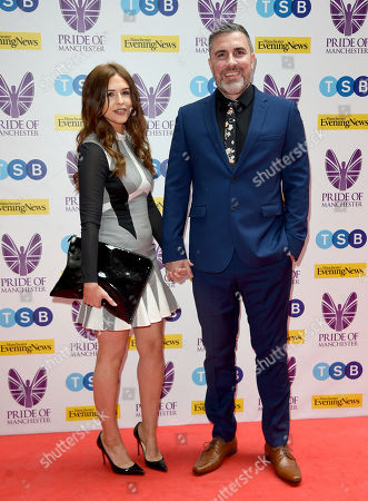 Editorial image of Pride of Manchester Awards, Arrivals, UK - 08 May 2019