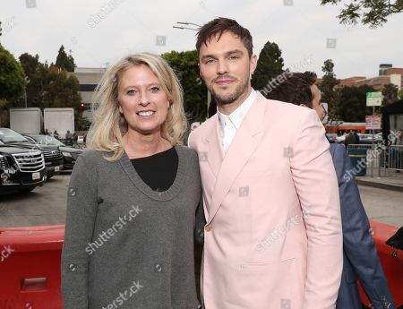 Jenno Topping and Nicholas Hoult