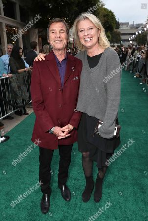 Larry Baldauf, EVP of Marketing at Fox Searchlight Pictures, left, and Jenno Topping