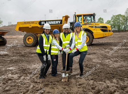 Stock Photo of Rhiana Burrell, Katrina Hart, Antwone Fergurson and Katie Stainton are seen attending the ceremony
