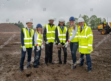 Stock Image of Mayor of West Mid Andy Street, Katrina Hart, Antwone Fergurson, Rhiana Burrell, Katie Stainton and Cllr Ian Ward are seen attending the ceremony