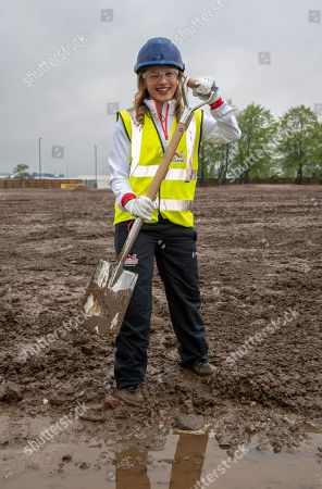 Editorial photo of Ground breaking ceremony for the Commonwealth Games 2022 Athletes Village, Birmingham, UK - 08 May 2019