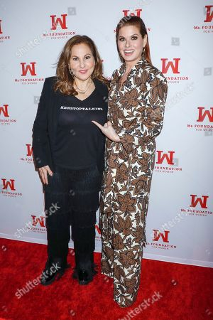 Kathy Najimy and Debra Messing