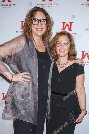 Judy Gold and Elysa Halpern