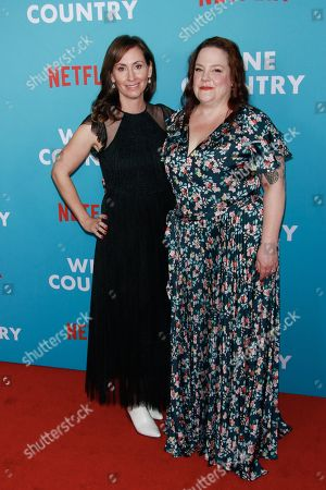 Editorial image of 'Wine Country' film premiere, Arrivals, The Paris Theater, New York, USA - 08 May 2019