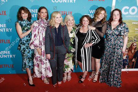 Tina Fey, Maya Rudolph, Amy Poehler, Paula Pell, Rachel Dratch, Ana Gasteyer, Emily Spivey