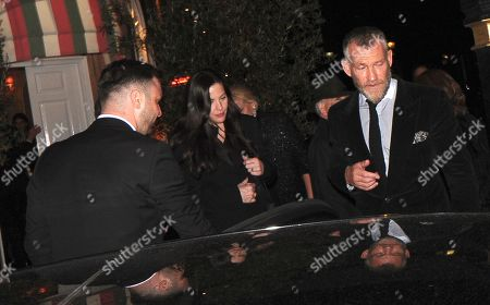 Stock Image of Liv Tyler and Dave Gardner
