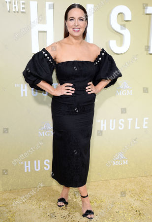 Editorial photo of 'The Hustle' film premiere, Arrivals, Pacific Cinerama Dome, Los Angeles, USA - 08 May 2019