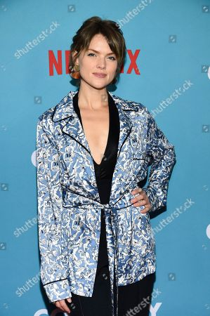 """Erin Richards attends the premiere of """"Wine Country"""" at The Paris Theatre, in New York"""