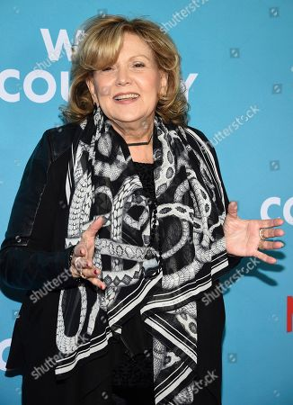 "Brenda Vaccaro attends the premiere of ""Wine Country"" at The Paris Theatre, in New York"