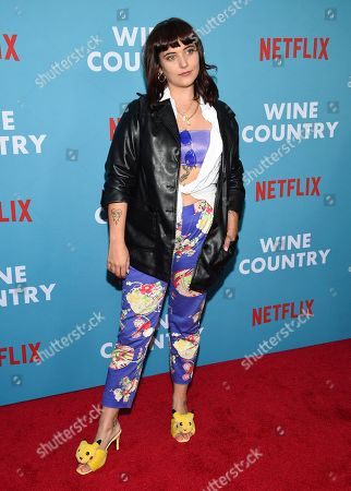 "Hannah Dunne attends the premiere of ""Wine Country"" at The Paris Theatre, in New York"