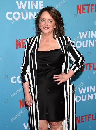 """Rachel Dratch attends the premiere of """"Wine Country"""" at The Paris Theatre, in New York"""