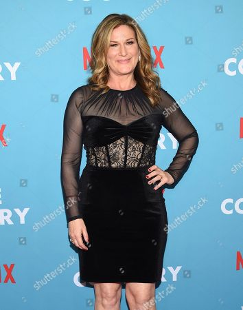 "Stock Image of Ana Gastayer attends the premiere of ""Wine Country"" at The Paris Theatre, in New York"