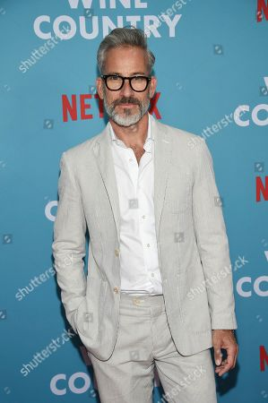 "Garrett Swann attends the premiere of ""Wine Country"" at The Paris Theatre, in New York"