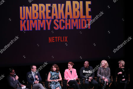 """Editorial image of """"Unbreakable Kimmy Schmidt"""" Screening and Q&A with Cast and Creators, New York, USA - 08 May 2019"""