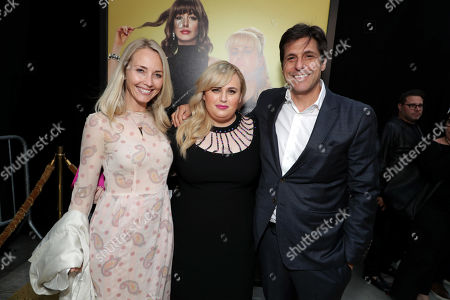 Cassidy Lange, Co-President of Production, Metro Goldwyn Mayer Motion Picture Group, Rebel Wilson, Jonathan Glickman, President of Metro Goldwyn Mayer Motion Picture Group,