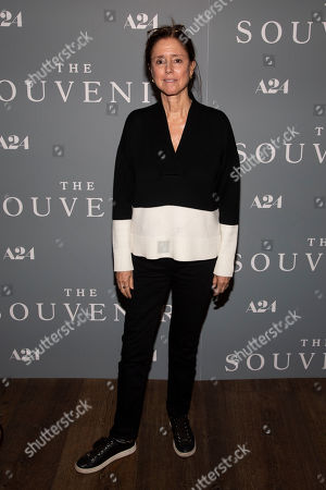 """Julie Taymor attends a special screening of """"The Souvenir"""" at the Crosby Street Hotel, in New York"""