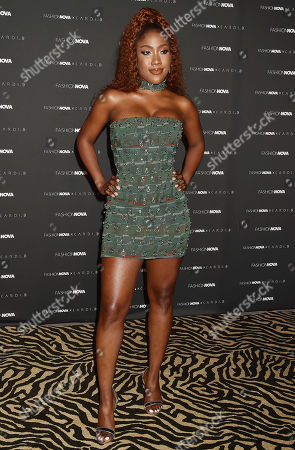 Editorial picture of Fashion Nova x Cardi B Collection Launch Event, Arrivals, Los Angeles, USA - 08 May 2019