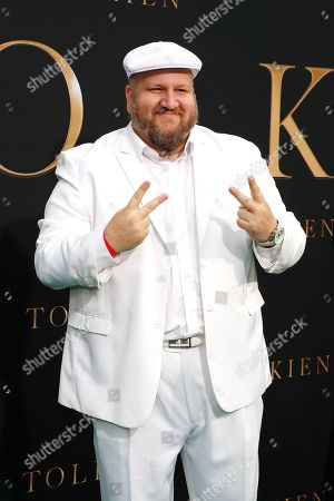 Stephen Kramer Glickman arrives for the LA Special Screening of Fox Searchlight Pictures 'Tolkien' at the Regency Village Theater in Westwood, Los Angeles, California, USA, 08 May 2019. The movie opens in US theaters on 10 May 2019.