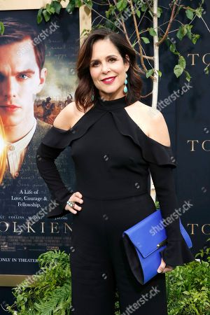 Laura Niemi arrives for the LA Special Screening of Fox Searchlight Pictures 'Tolkien' at the Regency Village Theater in Westwood, Los Angeles, California, USA, 08 May 2019. The movie opens in US theaters on 10 May 2019.