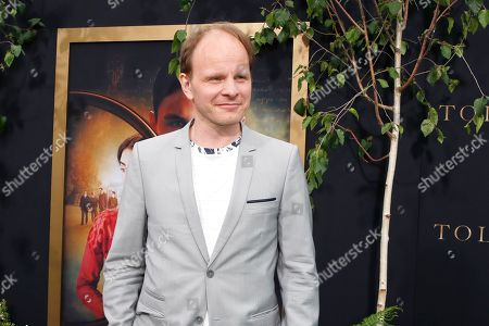 Stock Picture of Dome Karukoski arrives for the LA Special Screening of Fox Searchlight Pictures 'Tolkien' at the Regency Village Theater in Westwood, Los Angeles, California, USA, 08 May 2019. The movie opens in US theaters on 10 May 2019.
