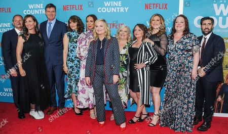 Tina Fey, Maya Rudolph, Amy Poehler, Paula Pell, Rachel Dratch, Ana Gasteyer, Emily Spivey and Jason Schwartzman