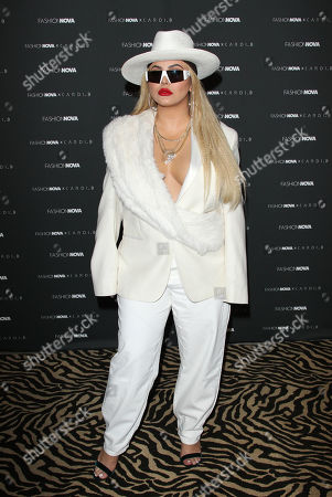 Editorial photo of Fashion Nova x Cardi B Collection Launch Event, Arrivals, Los Angeles, USA - 08 May 2019