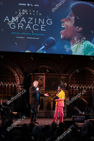 Editorial picture of 'Amazing Grace' film screening, Union Church London, UK - 08 May 2019
